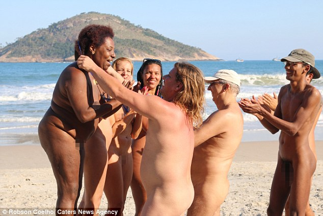 Black hair women nude