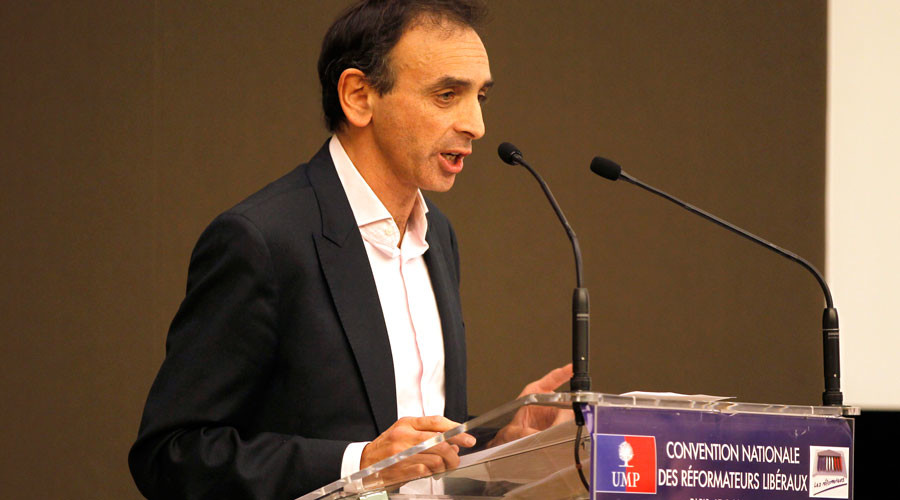 French journalist Eric Zemmour © Charles Platiau / Reuters