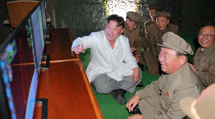 North Korean leader Kim Jong Un © KCNA / Reuters