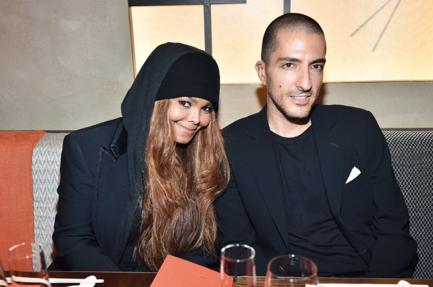 Image result for Wissam Al Mana and Janet Jackson