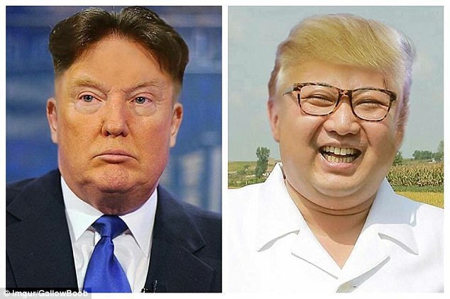 A Reddit user used Photoshop to imagine what President Trump and Kim Jon Un would look like if they swapped hair