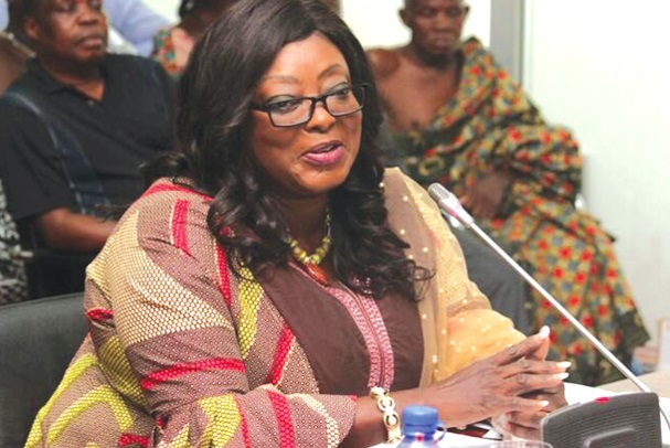 Freda Prempeh- Deputy works and Housing Minister