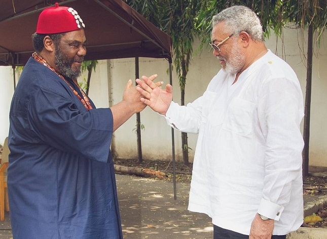 Image result for pete edochie and jerry rawlings