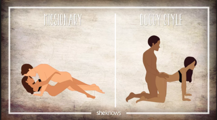 Missionary sex position animation — 4