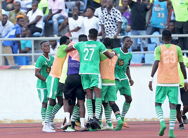 Elmina Sharks beat Hearts 2-1 in the Ghana Premier League