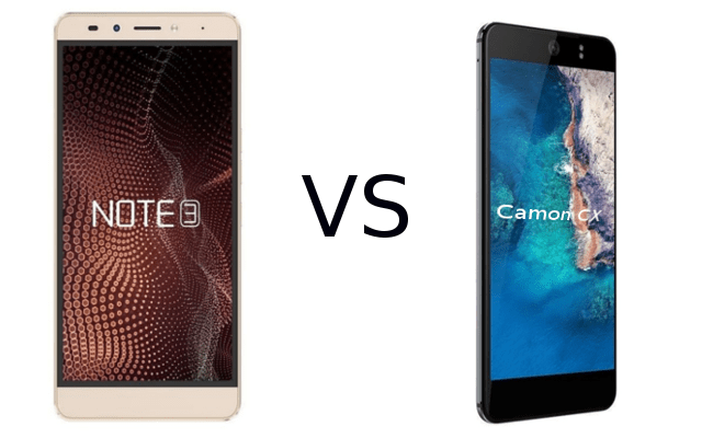 Infinix vs Techno