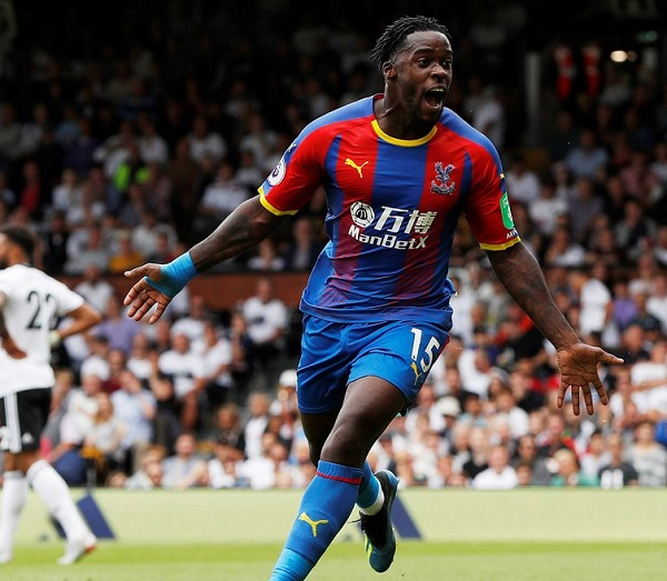 Jefferey Schlupp scores for Crystal Palace in win over Fulham