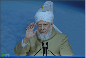 Hazrat Mirza Masroor Ahmad, World Head of the Ahmadiyya Muslim Community