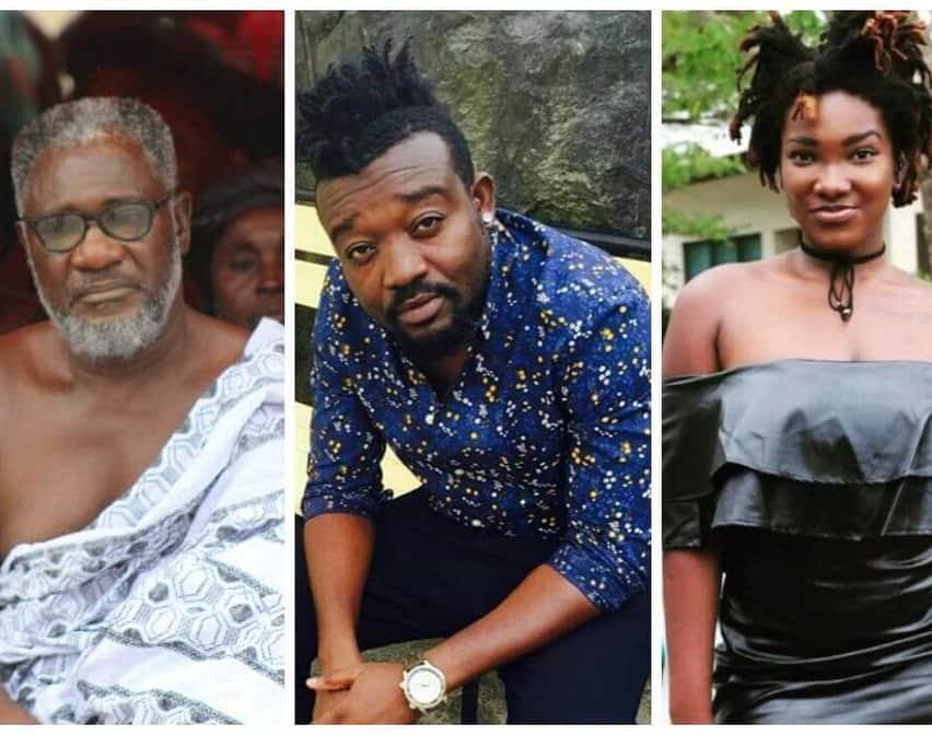 Bullet hands over the late Ebony's unreleased songs to her father
