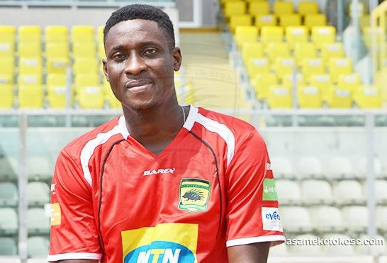 Kotoko player Daniel Darkwah finally undergoes a shoulder surgery