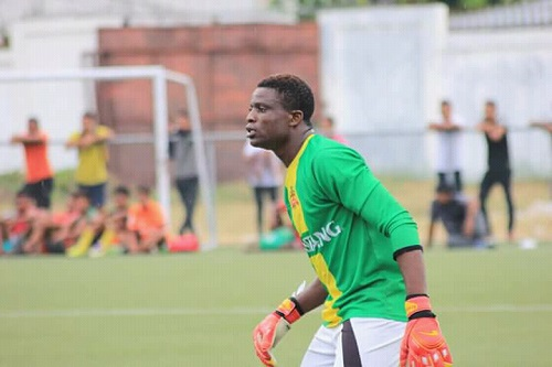 Nathaniel Agbozo wins best goalkeeper in East Timor