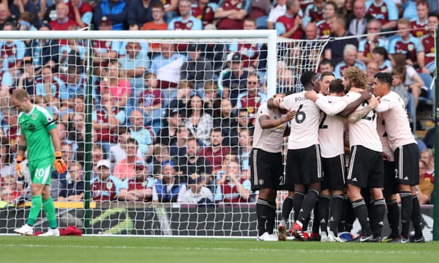 Man United comfortably beat Burnley