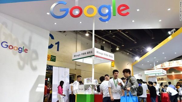 Google might return to China.