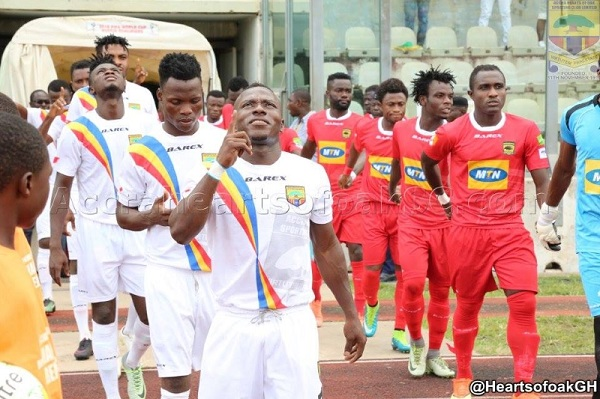 Hearts to face Kotoko in J.A Kufuor Cup