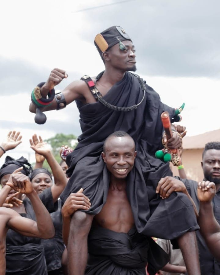 How Lilwin was enstooled as chief of Duaponko in Ashanti Region