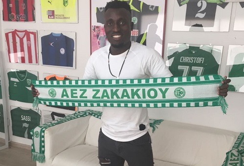 Maxwell Ankomah signs 1-year contract with Cypriot side AEZ Zakakiou
