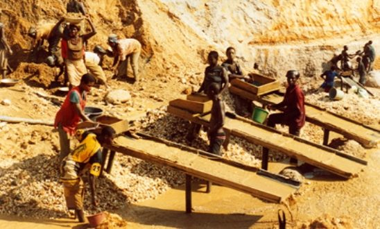 small-scale miners