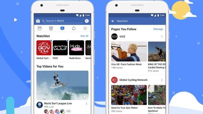 Facebook hopes Watch will encourage users to spend longer within its app