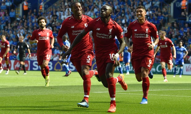 Liverpool beat Leicester 2-1 despite late scare
