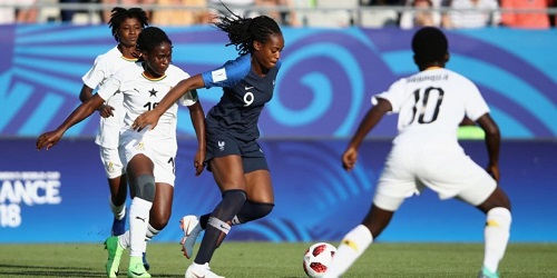 France beat Ghana 4-1 in Group A of the U20 WWC