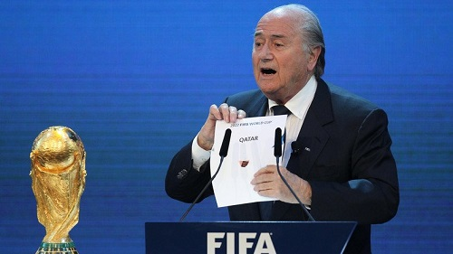 Ex-FIFA chief Blatter