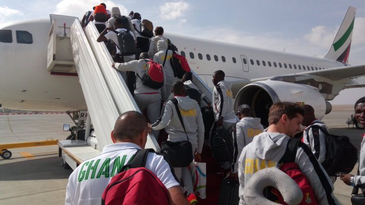 Black Stars to begin camping in Ethiopia on September 3rd ahead of Kenya clash