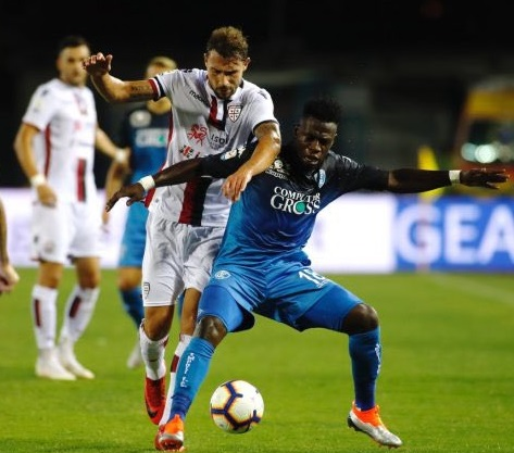 Afriyie Acquah marks Empoli debut with a win