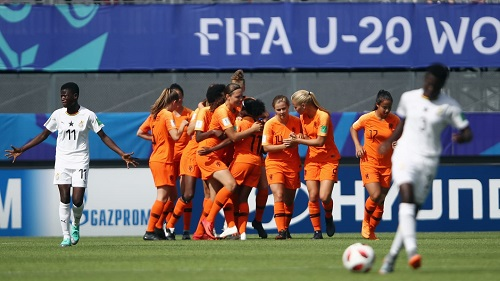 Netherland thump Ghana 4-0 in group A