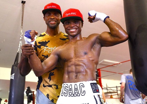 Isaac Dogboe /Otake train ahead of bout