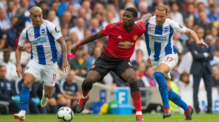 Paul Pogba admits his attitude was not right in Manchester United loss at Brighton