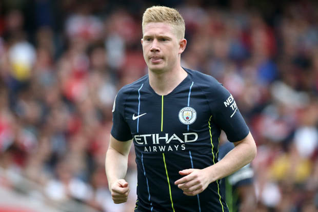 Man City star De Bruyne