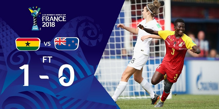 Black Princesses win first game as they beat New Zealand 1-0