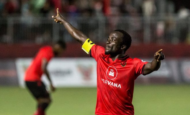 Ghana international Solomon Asante scores, registers assist as Phoenix Rising as beat Tacoma Defiance