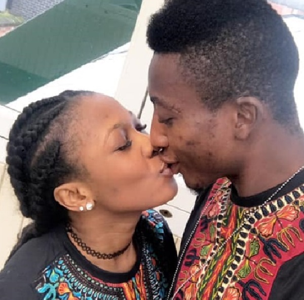 PHOTOS: Kotoko Goalie Felix Annan enjoys X'mas holiday with stunning girlfriend