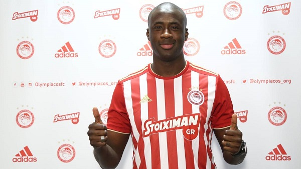Yaya Toure 'contract terminated by Olympiakos' after FIVE matches