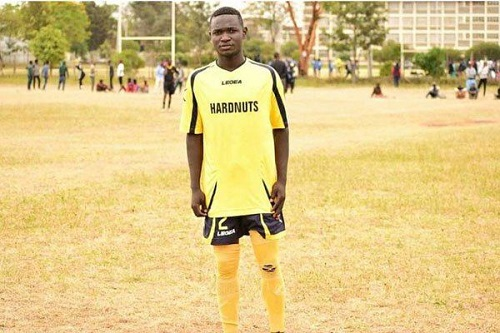 Footballer struck dead by lightning