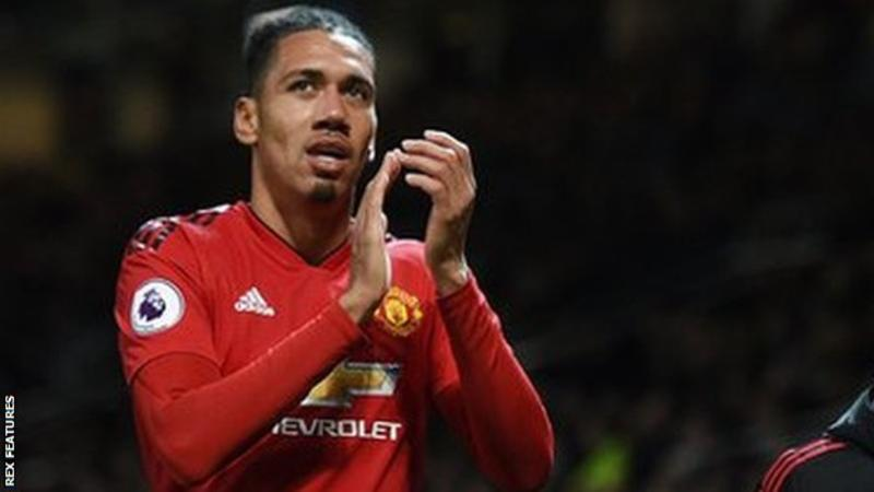 Chris Smalling signs new contract with Manchester United
