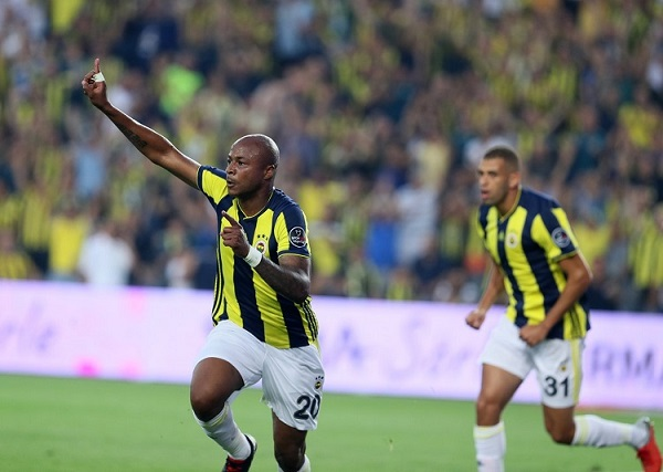 VIDEO: Andre Ayew scores on his Birthday as Fenerbahce draws