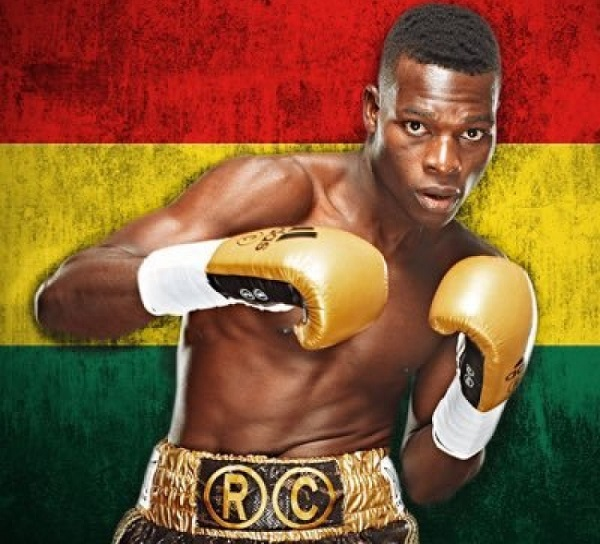 Commey: I will put up my best against Chaniev