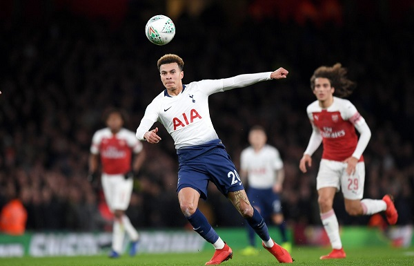 EFL Cup: Watch Spurs stun Arsenal at Emirates to advance to semis