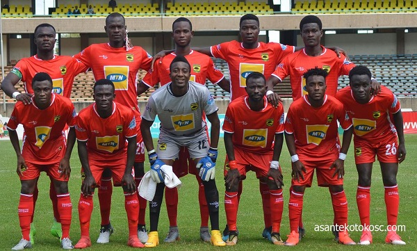 MATCH REPORT: Asante Kotoko pip Asokwa Deportivo 3-0 in friendly ahead of Sharks tie