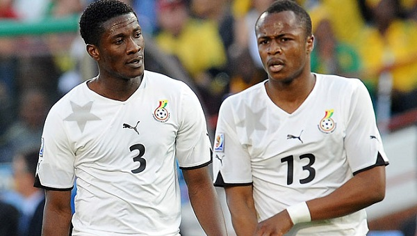 Asamoah Gyan planning to win AFCON with Ayew