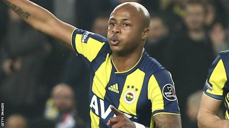 Andre Ayew could join Fenerbahce on permanent basis