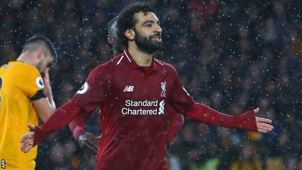 Liverpool beat Wolves to continue unbeaten run