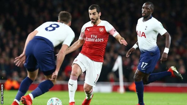 Henrikh Mkhitaryan: Arsenal midfielder out for up to six weeks with broken foot