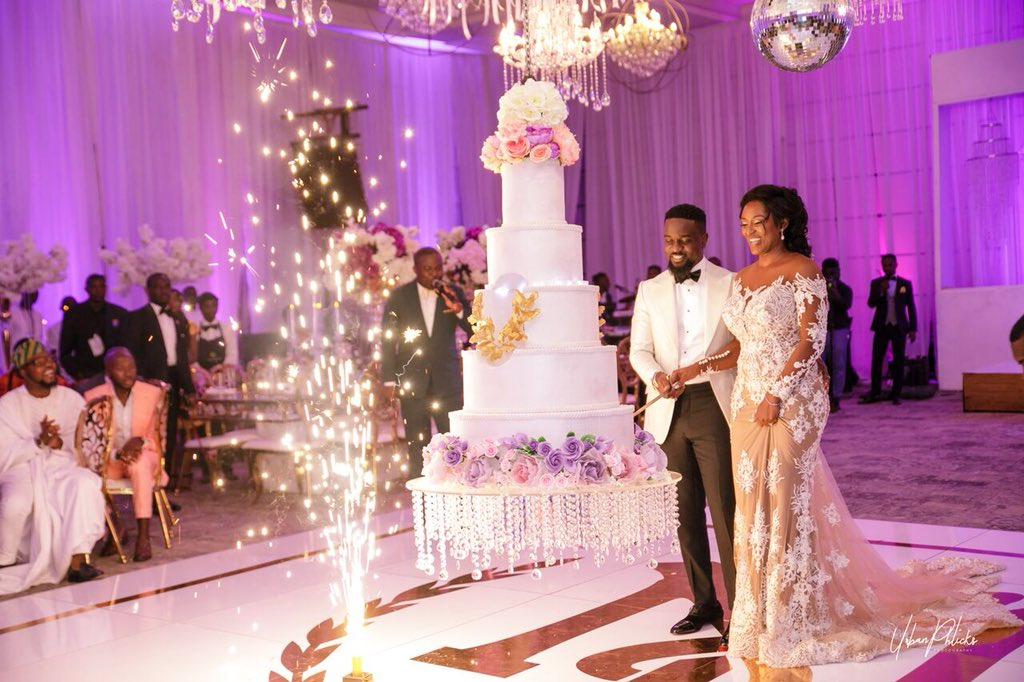 Ghanaian celebrity wedding photos that lit our timelines in 2018