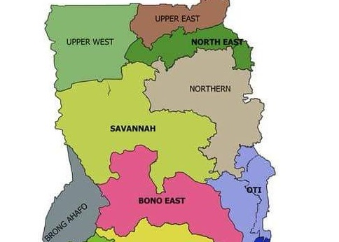 Photo: This is how the Ghana map could look like after today\'s ...
