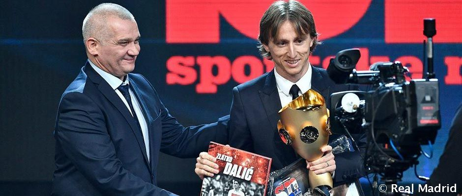 Luka Modric wins another player of the year award