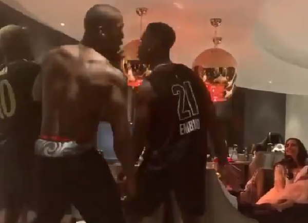 WATCH: Pogba brothers dance at Christmas in a family room