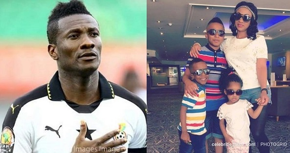 Asamoah Gyan 'broke and hasn't spoken to his wife or children for months'